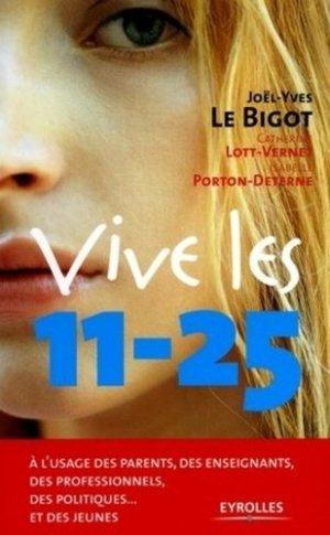 Vive les 11-25 - Editions d'Organisation - 9782708131088 -