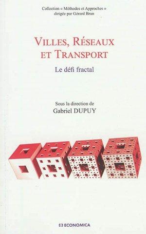 Villes, Réseaux et Transport - economica anthropos - 9782717869446 -