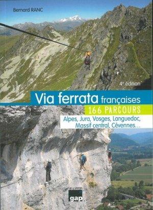 Via ferrata françaises - gap - 9782741706274 -