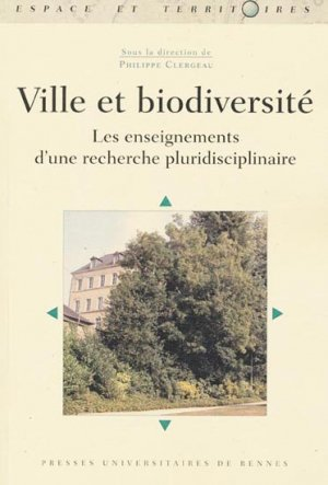 Ville et biodiversité - presses universitaires de rennes - 9782753516953 -