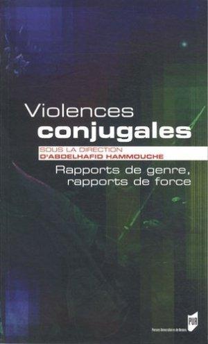 Violences conjugales - presses universitaires de rennes - 9782753520493 -