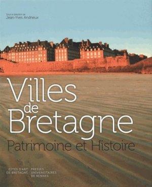 Villes de Bretagne - presses universitaires de rennes - 9782753534735 -