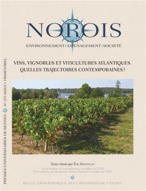 Vins, vignobles et viticultures atlantiques - presses universitaires de rennes - 9782753582149 -