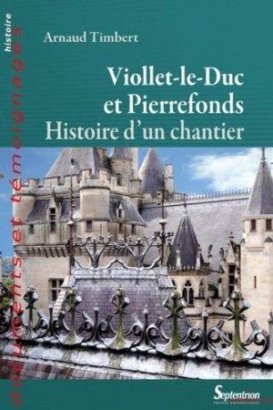 Viollet-le-Duc et Pierrefonds - presses universitaires du septentrion - 9782757416396 -