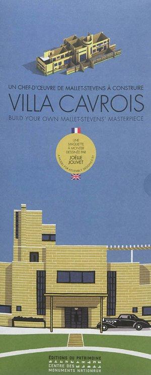Villa cavrois - Un chef-d'oeuvre de Mallet-Stevens à construire - du patrimoine - 9782757705094 -