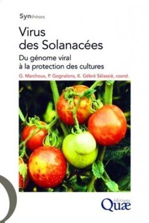 Virus des solanacées Du génome viral à la protection des cultures - quae  - 9782759200764 -
