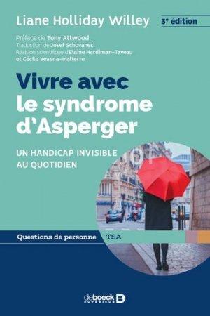 Vivre avec le syndrome d'Asperger - de boeck - 9782807324237 -
