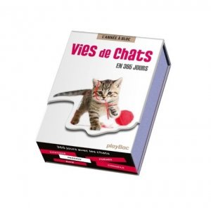 Vies de chats en 365 jours - Play Bac - 9782809654479 -