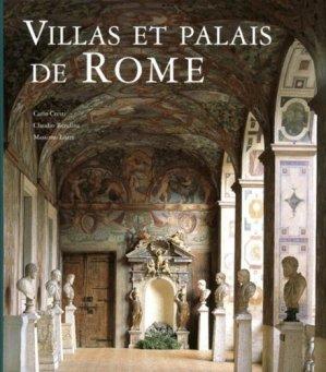 Villas et palais de Rome - place des victoires - 9782809912852 -