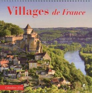 Villages de France calendrier 2016 - place des victoires - 9782809912982 -