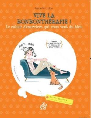 Vive la ronronthérapie - esf - 9782810424986 -