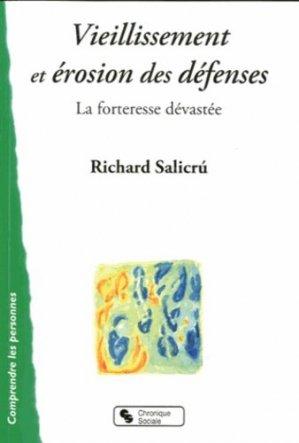 Vieillissement et érosion des défenses - chronique sociale - 9782850089572 -