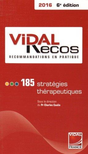 Vidal Recos 2016 - vidal - 9782850912078 -