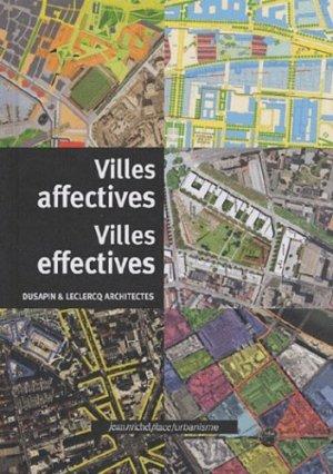 Ville affectives Villes effectives - Editions Jean-Michel Place - 9782858937752 -