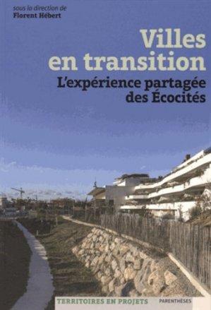 Villes en transition - parentheses - 9782863642382 -