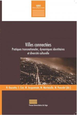 Villes connectées - presses universitaires de liège - 9782875620781 -