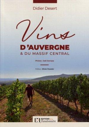 Vins d'Auvergne & du Massif Central - de la flandonniere - 9782918098812 -