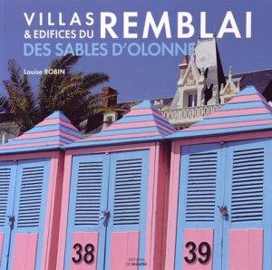 Villas et edifices balnéaires du remblai des Sables d'Olonne - de beaupre - 9782919154111 -