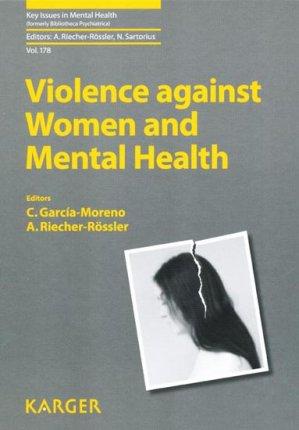 Violence against Women and Mental Health - karger  - 9783805599887 -