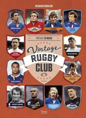 Vintage rugby club - Editions Tana - 9791030102574 -