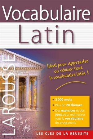 Vocabulaire latin - Larousse - 9782035880949 -