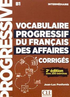 Vocabulaire progressif du français des affaires intermédiaire B1 - cle international - 9782090381078 -