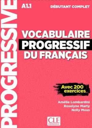 Vocabulaire progressif débutant complet A1.1 - Nathan - 9782090382181 -