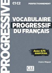 Vocabuylaire progressif du Français - Perfectionnement - cle international - 9782090384536 -
