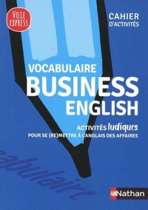 Vocabulaire business english - nathan - 9782091670812 -