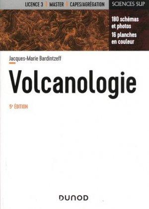 Volcanologie - dunod - 9782100797417 -