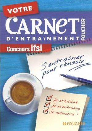 Votre carnet d'entraînement IFSI - foucher - 9782216120512