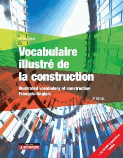 Vocabulaire illustré de la construction - Français - Anglais - le moniteur - 9782281142389 -