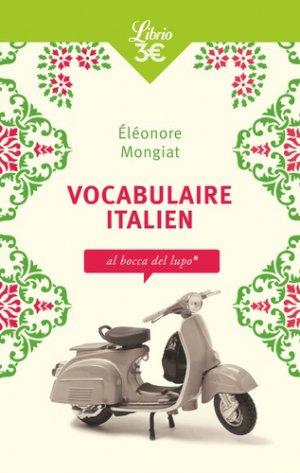 Vocabulaire italien - J'ai lu - 9782290201138 -