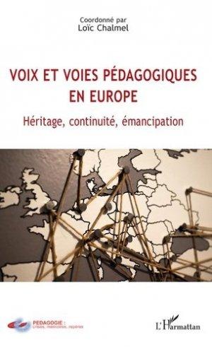 Voix et voies pédagogiques en Europe - l'harmattan - 9782343144481 -