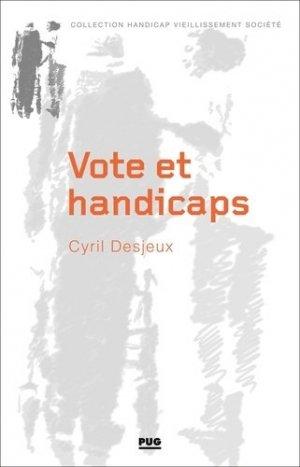 Vote et handicaps - pug - 9782706145704 -