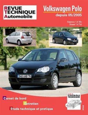 Volkswagen Polo depuis 05/2005 Essence 1.4 16v Diesel 1.4 TDI  - etai - editions techniques pour l'automobile et l'industrie - 9782726872154 -