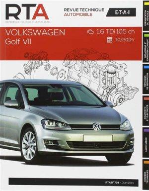 Volkswagen golf VII 1.6 tdi 105 ch 10/2012 -> - etai - editions techniques pour l'automobile et l'industrie - 9782726879450 -