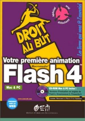 Votre première animation Flash 4 - osman eyrolles multimedia - 9782746401419 -