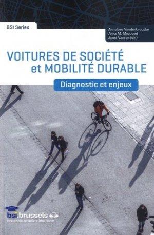 Voitures de société et mobilité durable - universite de bruxelles - 9782800416571 -