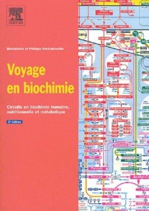 Voyage en biochimie - elsevier / masson - 9782842995478 -
