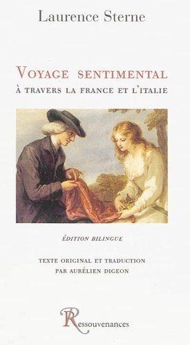 Voyage sentimental à travers la France et l'Italie - Ressouvenances - 9782845051478 -