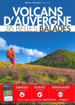 Volcans d'Auvergne : 36 belles balades - dakota - 9782846404846 -