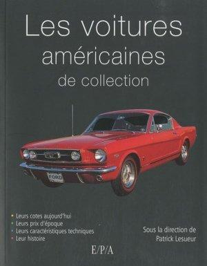 Voitures américaines de collection - epa - 9782851207371 -
