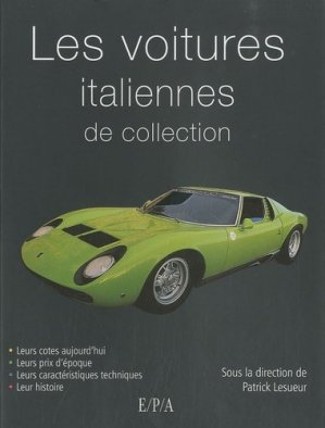 Voitures italiennes de collection - epa - 9782851207395 -