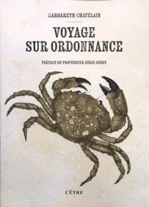 Voyage sur ordonnance - cetre - 9782878232820 -