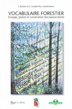 Vocabulaire forestier - institut pour le developpement forestier - 9782904740992 -