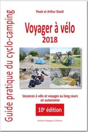 Voyager à vélo 2018 - artisans voyageurs - 9782916271873 -