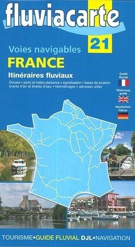 Voies navigables France itinéraires fluviaux. Edition français-anglais-allemand - de l'ecluse - 9782916919508 -