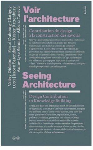 Voir l'architecture - b42 - 9782917855546 - majbook ème édition, majbook 1ère édition, livre ecn major, livre ecn, fiche ecn