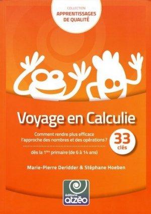 Voyage en Calculie - Editions Atzéo - 9782930794174 -